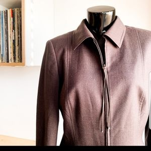 Escada wool blend fitted suit jacket NWOT
